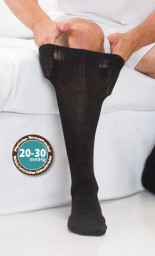 Core-Spun Support Socks for Men & Women 20-30mmHg