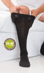 Core-Spun Support Socks for Men & Women 30-40mmHg