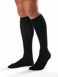 Jobst Men's 30-40 mmHg Closed Toe Knee High Support Socks