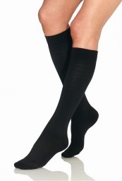 Jobst Women's 8-15 mmHg Knee High Pattern Trouser Socks