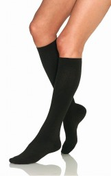 Jobst Women's Casual 8-15 mmHg Knee High Socks