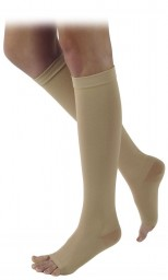 Sigvaris 500 Natural Rubber 40-50 mmHg Open Toe Knee Highs - 504C