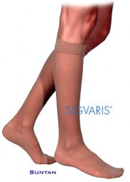 Sigvaris 770 Truly Transparent 20-30 mmHg Women's Closed Toe Knee Highs - 772C