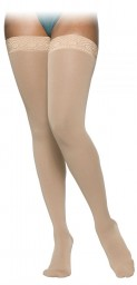 Sigvaris 860 Select Comfort Series 20-30 mmHg Women's Closed Toe Thigh Highs - 862N