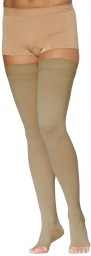Sigvaris 970 Access Series 30-40 mmHg Unisex Open Toe Thigh Highs - 973N