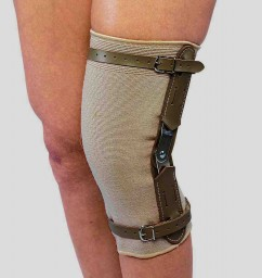 SAI Beige Knee Brace - Hinged Bars