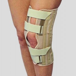 SAI Knee Support - Condyle Pads, Front Opening