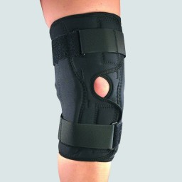 SAI Orthotex Knee Stabilizer Wrap - Hinged Bars