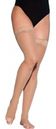 Sigvaris 780 EverSheer 20-30 mmHg Women's Open Toe Thigh Highs - 782N