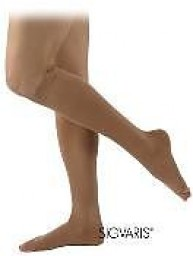 Sigvaris 860 Select Comfort 30-40 mmHg Open Toe Knee Highs w/ Silicone Top Band - 863C