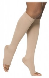 Sigvaris 860 Select Comfort Series 30-40 mmHg Open Toe Unisex Knee Highs - 863C