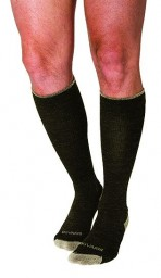 Sigvaris Men's & Women's Merino Outdoor Wool 15-20 mmHg Compression Closed Toe Knee High Socks - 421C