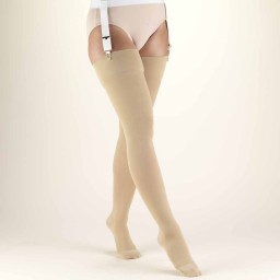 Truform Classic Medical Closed Toe 20-30 mmHg Thigh High Support Stockings