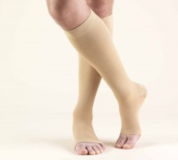 Truform Classic Medical Open Toe 30-40 mmHg Knee High Support Stockings