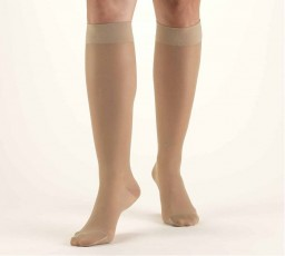 Truform Women's Lites 15-20 mmHg Knee High Support Stockings
