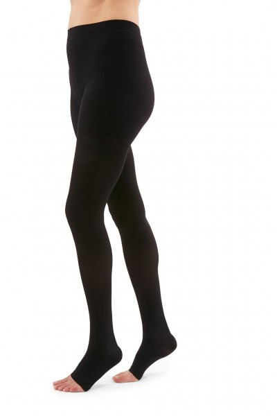 a4d290aeafc05 Duomed Advantage 20-30 mmHg Open Toe Maternity Pantyhose