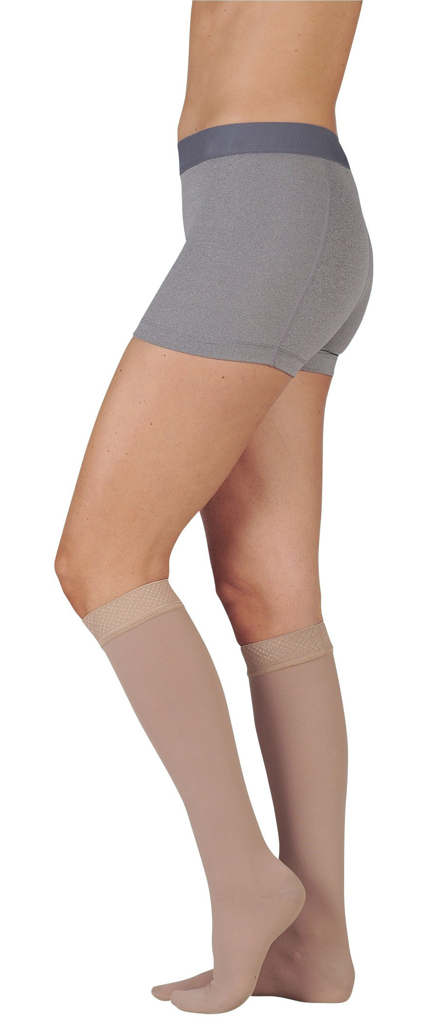 61c3ee505 Juzo Dynamic Max 3511MX 20-30 mmHg Knee High Stockings with 5cm Silicone  Border