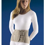 """Soft Form Lumbar Sacral Back Support w/ Flexible stays 11"""" Height"""
